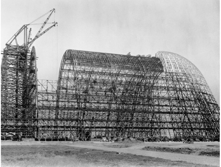 Hangar One Skeleton