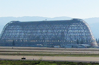 Hangar One and Moffett Runways